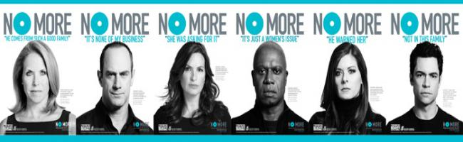 Picture of NO MORE PSA campaign